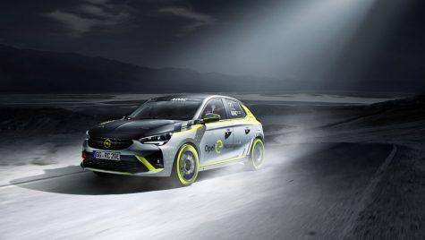Opel Corsa-e Rally, primul automobil electric pentru raliuri