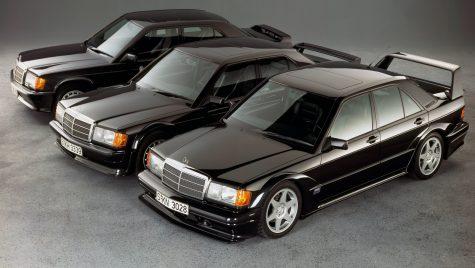Celebrul model Mercedes-Benz 190E 2.5-16 Evo II împlinește 30 de ani de la lansare