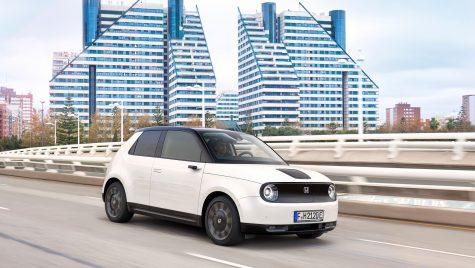 Finalistele Best Electric Car in Romania 2021: Honda e