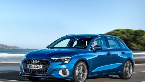 Audi A3 Sportback: informații și fotografii oficiale