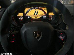 Cea mai scumpă mașină din România Lamborghini Aventador SV
