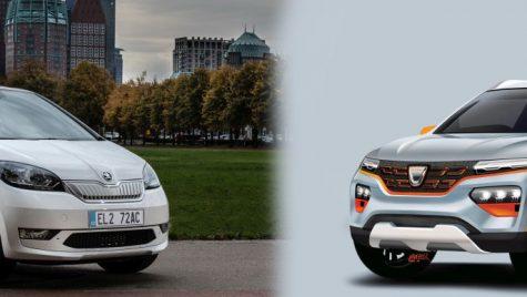 Dacia Spring vs Skoda Citigo e iV