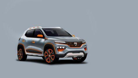 Dacia Spring este prima Dacia electrică și vine în 2021
