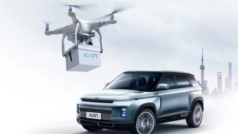 Geely livrează cheile mașinii către noii clienți cu ajutorul unei drone
