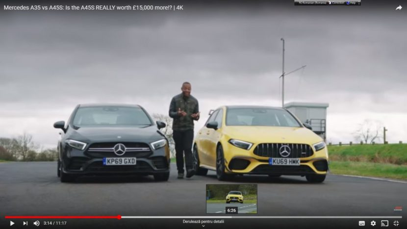 Mercedes-AMG A 45S vs Mercedes-AMG A 35 2020