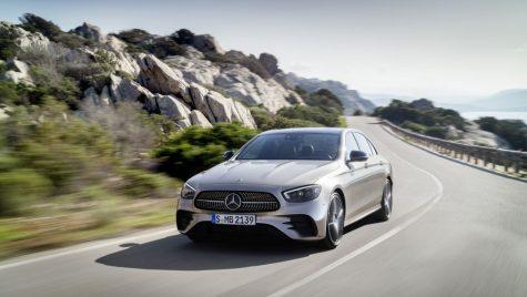 Noul Mercedes-Benz E-Class facelift 2020