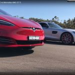 Cine e mai rapid? Tesla Model S sau Mercedes-AMG GT S? Video