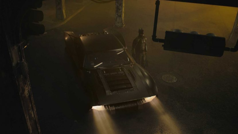 The Batman și Robert Pattinson vin cu Batmobile