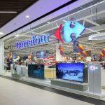 Carrefour suspendă momentan livrările online de mărfuri perisabile