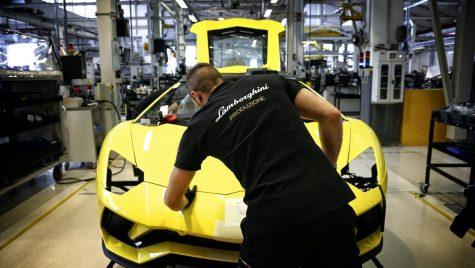 Lamborghini închide fabrica din Sant'Agata Bolognese până la finalul lunii martie