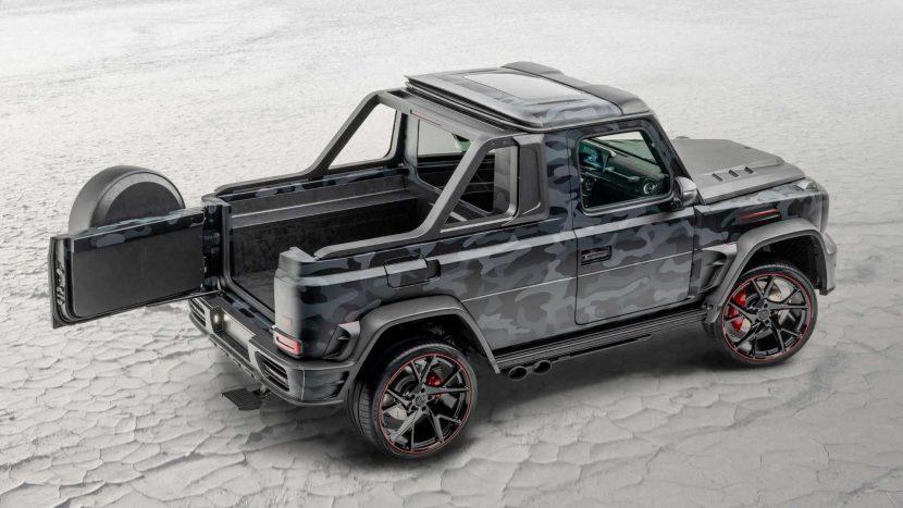 Cine a transformat un Mercedes-AMG G63 în pickup