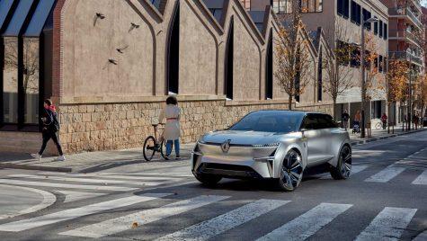 Renault, concept (meta) Morphoz pentru viziunea electrică a anului 2025