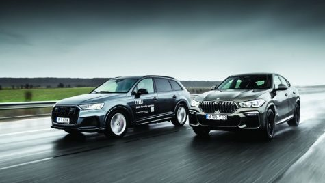 Test BMW X6 M50d vs Audi SQ7 TDI: Ultimii mohicani