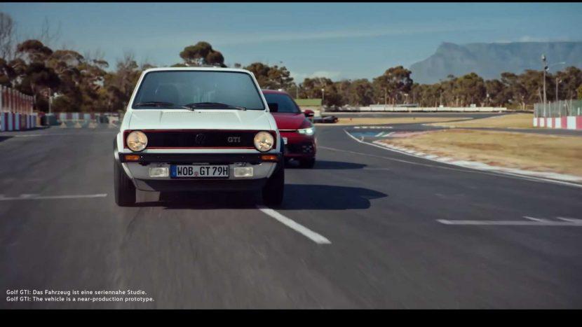 VW Golf GTI: Original vs. Mk 8 (video)