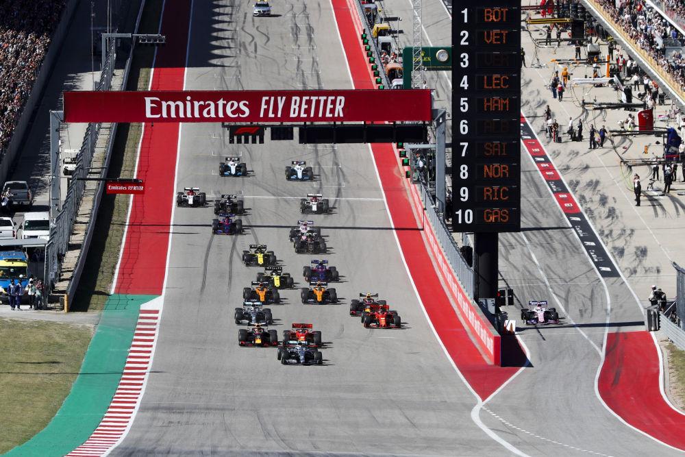 Formula 1 - retrospectiva sezonului 2019_GP SUA