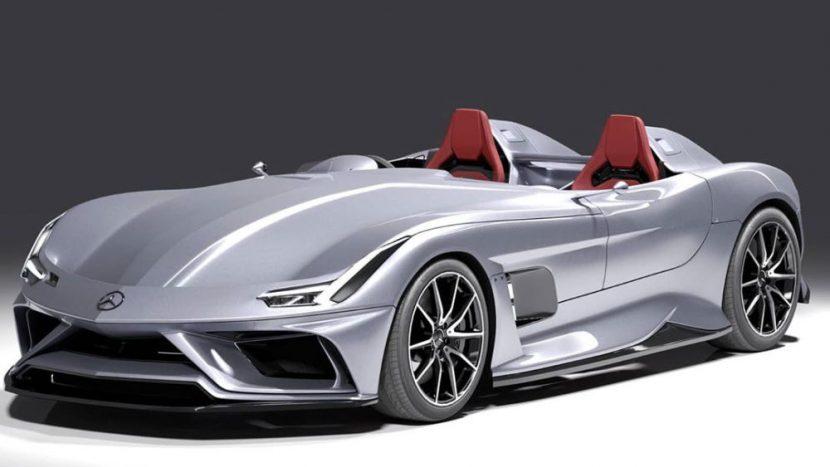 Tribut Stirling Moss Mercedes AMG GT Speedster