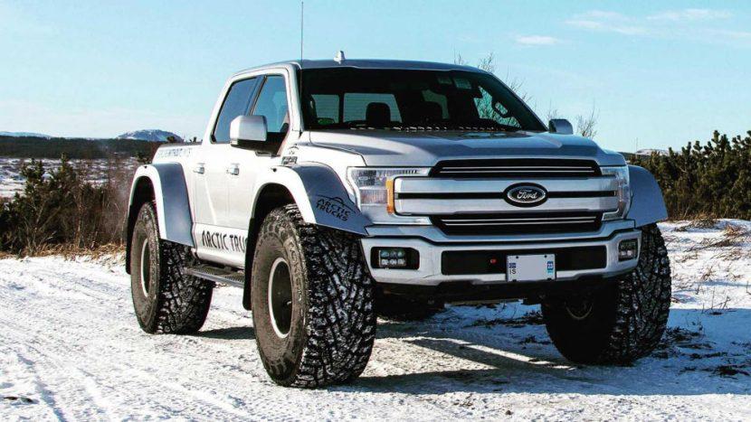 F-150 transformat de Arctic Trucks