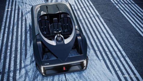 RAW – proiectul unui hypercar Koenigsegg cu trei locuri