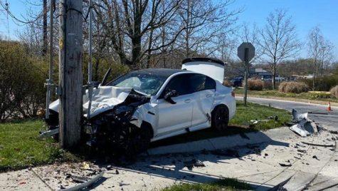 BMW M5 F90 nou făcut praf după numai 11 km