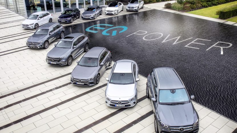 modele Mercedes Plug-In Hybrid 2020