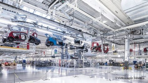 Volkswagen reia treptat producția