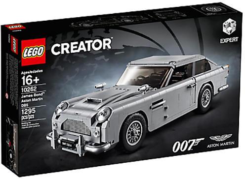 aston martin DB5 LEGO Creator Expert