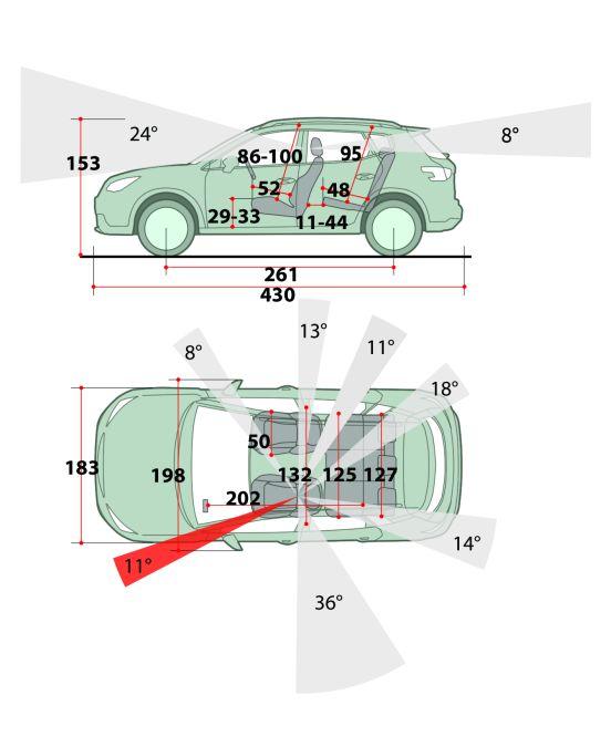 desen dimensiuni Peugeot 2008 2020