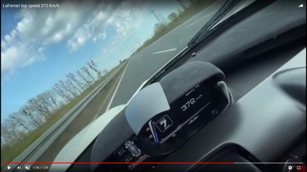 record de 372 km/h pe autostradă