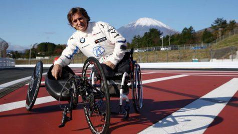 Fostul pilot de Formula 1 Alex Zanardi a suferit un grav accident în timpul unei curse de biciclete