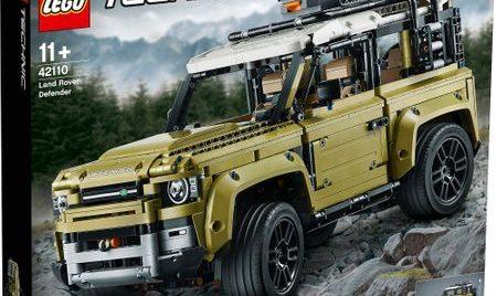 Cele mai noi seturi LEGO cu mașini 2020