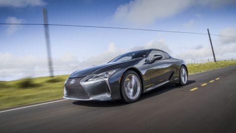 Lexus LC Coupe facelift: update tehnic pentru modelul japonez