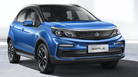 Maple 30X: un nou crossover electric low-cost din China