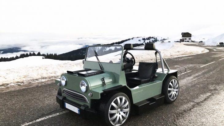 Mini Moke cu motor V8 Maserati: Mini V8M cu 460 CP și doar 850 kg!