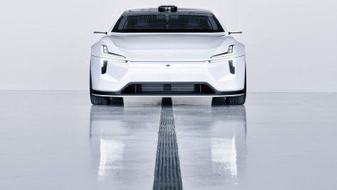 Polestar Precept – imagini noi cu concept car-ul electric din Suedia