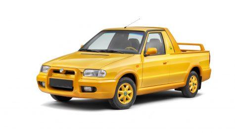 Modele auto uitate: Skoda Felicia Fun – pick-up-ul din estul Europei
