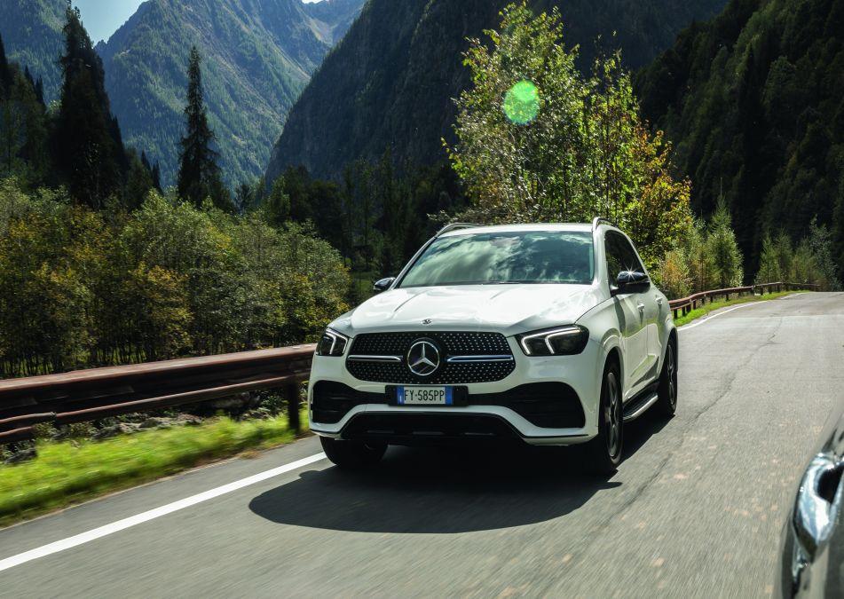 test Mercedes GLE 300d 4Matic 2020