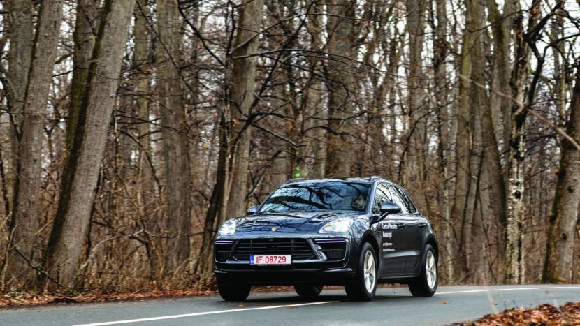 test Porsche Macan Turbo facelift 2020