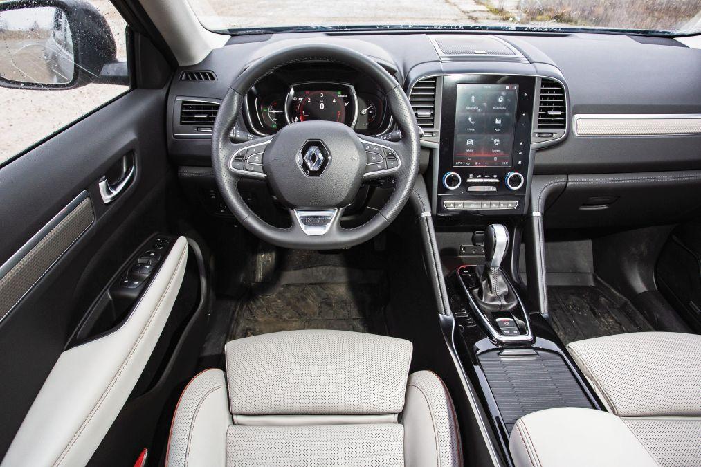test Renault Koleos dCi190 X-Tronic facelift 2020