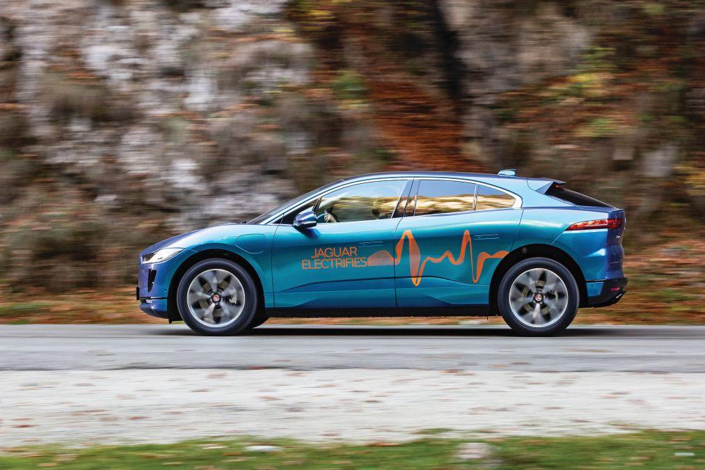 test comparativ Jaguar I-Pace