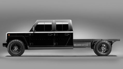 Bollinger a prezentat B2 Chassis Cab un model 100% electric de camionetă comercială