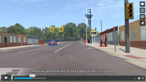 Costuri mai mici pentru simulările autonomous driving