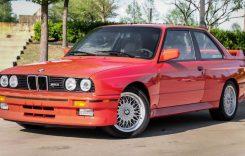 Un BMW M3 E30 deținut de actorul Paul Walker a apărut la vânzare