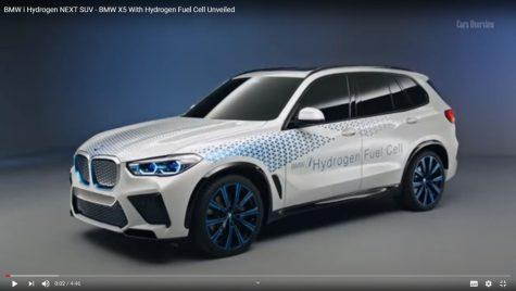 BMW nu renunță la pila de combustie. BMW X5 cu pilă de combustie din 2022