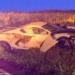 Un Chevrolet Corvette C8 nou-nouț găsit distrus pe un câmp