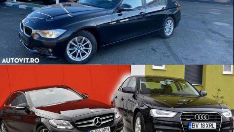 Limuzine premium de clasă medie la preț de Dacia Logan nouă