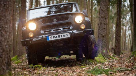 MWM Spartan: conversie la propulsie electrică pentru SUV-ul rusesc