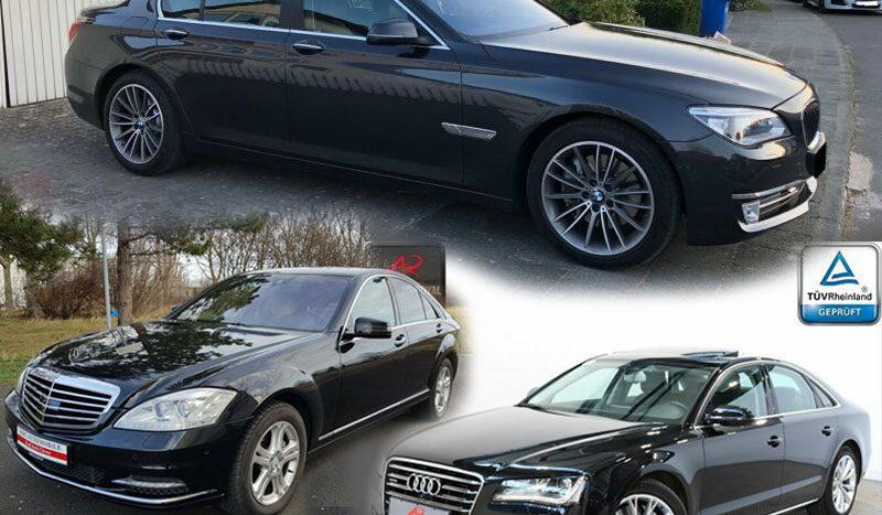 second hand Audi A8, BMW Seria 7, Mercedes Clasa S