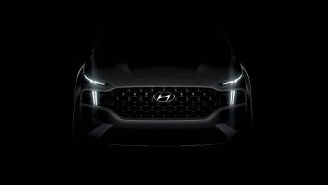 Hyundai Santa Fe: primul teaser oficial pentru generația cu facelift și platformă nouă