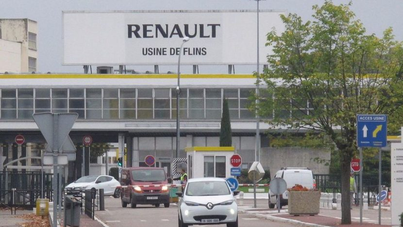 Fabrica Renault din Flins