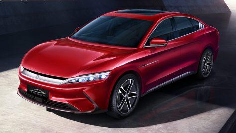 BYD Han EV: sedan electric lansat în Europa ca rival pentru Tesla Model 3